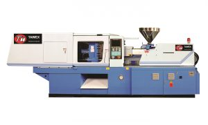 Maquina de Inyeccion de plastico horizontal TAI-MEX